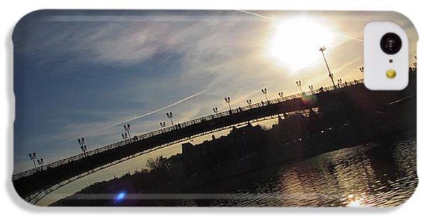 Moscow Skyline iPhone 5c Case - Transfix The Sun by Anna Yurasovsky