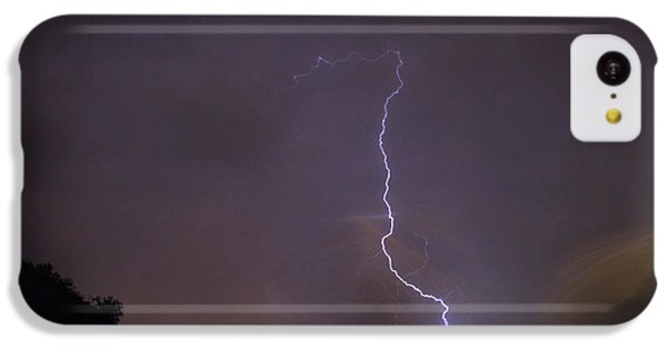 IPhone 5c Case featuring the photograph It's A Hit Transformer Lightning Strike by James BO Insogna