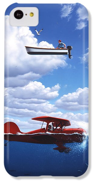 Seagull iPhone 5c Case - Transportation by Jerry LoFaro
