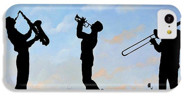 Trumpet iPhone 5c Case - tre by Guido Borelli