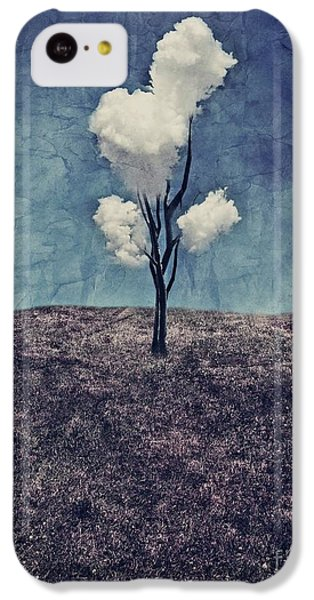 Landscapes iPhone 5c Case - Tree Clouds 01d2 by Aimelle