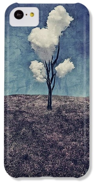 iPhone 5c Case - Tree Clouds 01d2 by Aimelle