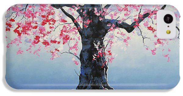 Salmon iPhone 5c Case - Tree Of Life by Graham Gercken