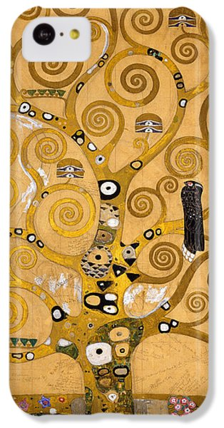 Tree Of Life IPhone 5c Case by Gustav Klimt