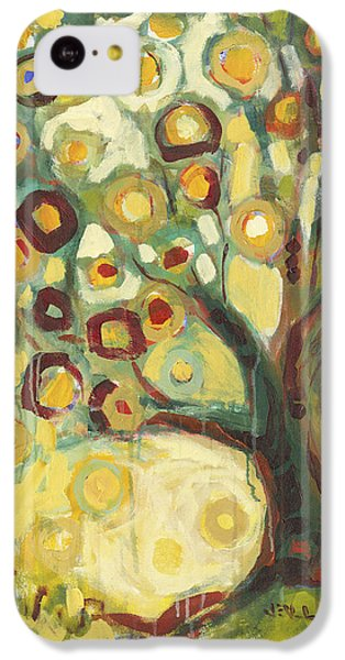 Abstract iPhone 5c Case - Tree Of Life In Autumn by Jennifer Lommers