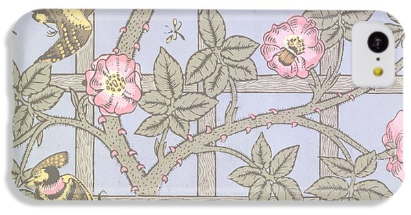 Trellis   Antique Wallpaper Design IPhone 5c Case by William Morris