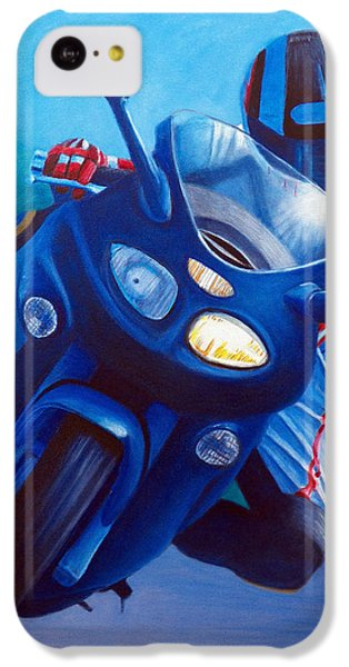 Triumph Sprint - Franklin Canyon  IPhone 5c Case by Brian  Commerford