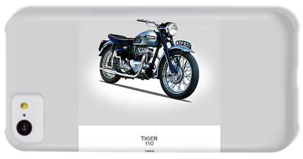 Triumph Tiger 110 1956 IPhone 5c Case by Mark Rogan