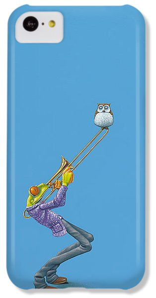 Trombone iPhone 5c Case - Trombone by Jasper Oostland