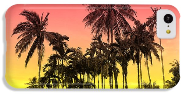 Tropical 9 IPhone 5c Case by Mark Ashkenazi
