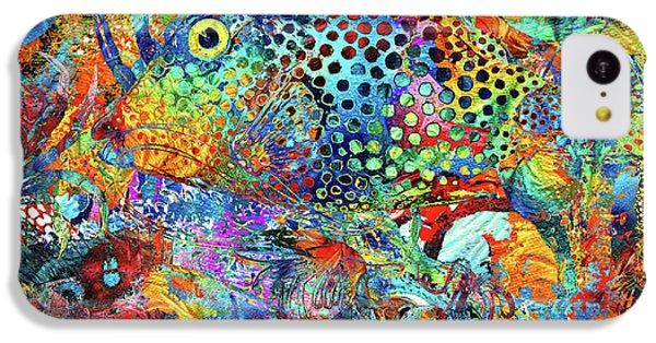 Humming Bird iPhone 5c Case - Tropical Beach Art - Under The Sea - Sharon Cummings by Sharon Cummings