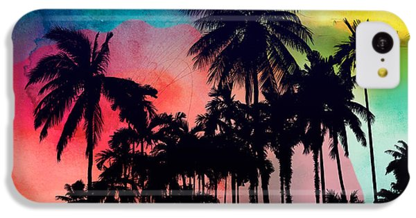 Tropical Colors IPhone 5c Case by Mark Ashkenazi