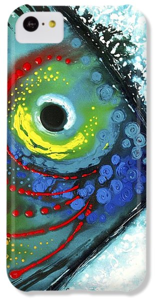 Bass iPhone 5c Case - Tropical Fish by Sharon Cummings