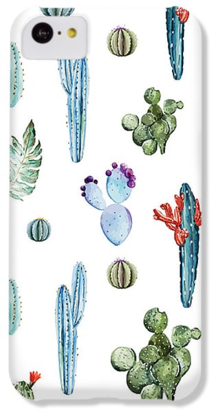 Tropical Forever 2 IPhone 5c Case by Mark Ashkenazi