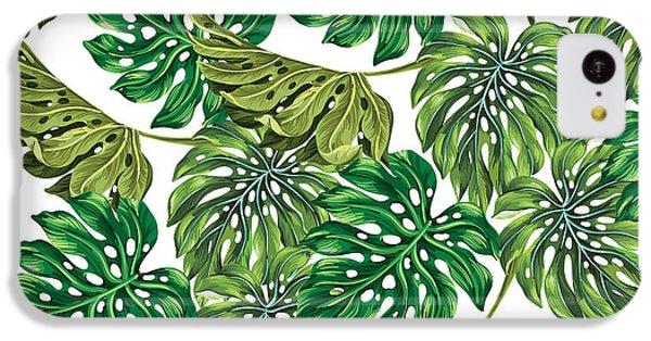 Tropical Haven  IPhone 5c Case by Mark Ashkenazi