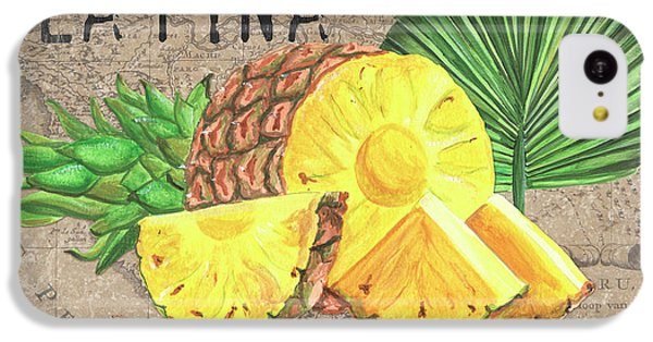 Cheetah iPhone 5c Case - Tropical Palms 5 by Debbie DeWitt