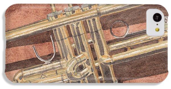 Trumpet IPhone 5c Case by Ken Powers