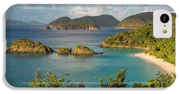 IPhone 5c Case featuring the photograph Trunk Bay Morning by Adam Romanowicz
