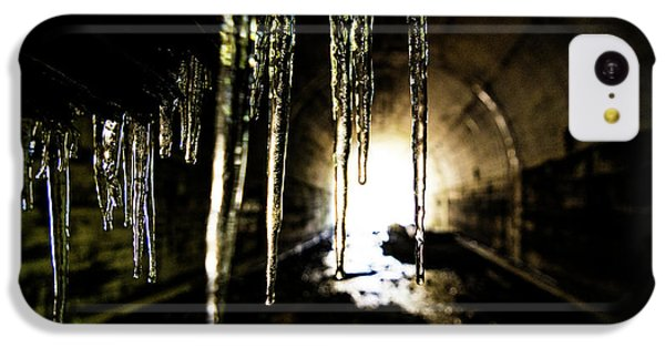 Dungeon iPhone 5c Case - Tunnel Icicles by Pelo Blanco Photo