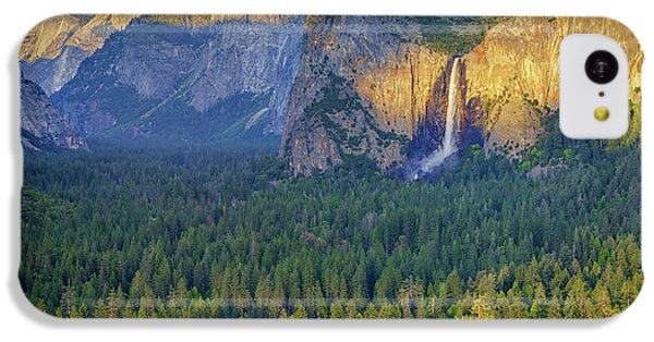 Tunnel View At Sunset IPhone 5c Case by Rick Berk