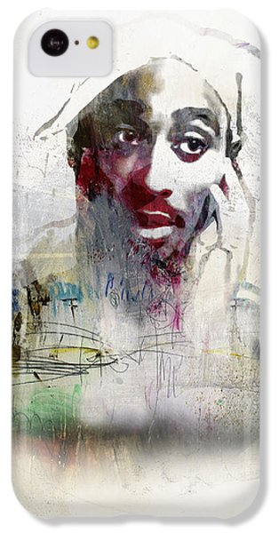 Tupac Graffitti 2656 IPhone 5c Case by Jani Heinonen
