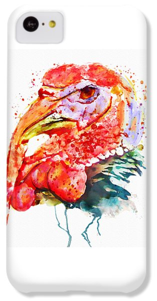 Turkey Head IPhone 5c Case by Marian Voicu