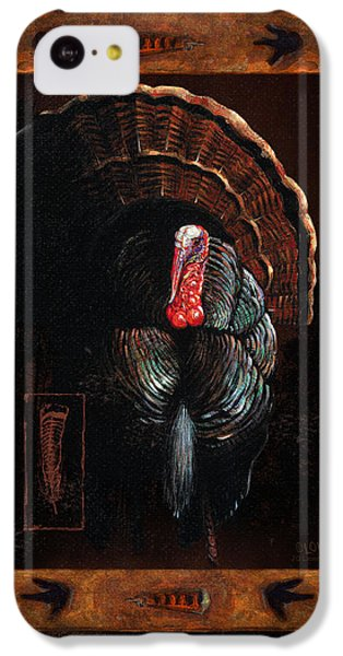 Turkey iPhone 5c Case - Turkey Lodge by JQ Licensing