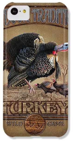 Turkey iPhone 5c Case - Turkey Traditions by JQ Licensing
