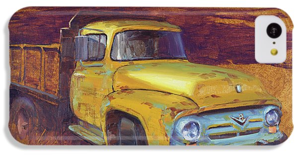 Truck iPhone 5c Case - Turning Into The Light by Cody DeLong