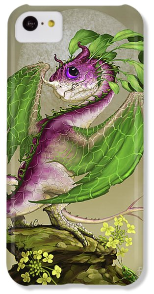 Cricket iPhone 5c Case - Turnip Dragon by Stanley Morrison