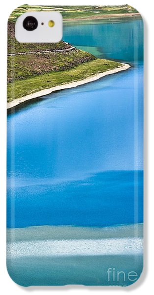 Turquoise Water IPhone 5c Case by Hitendra SINKAR
