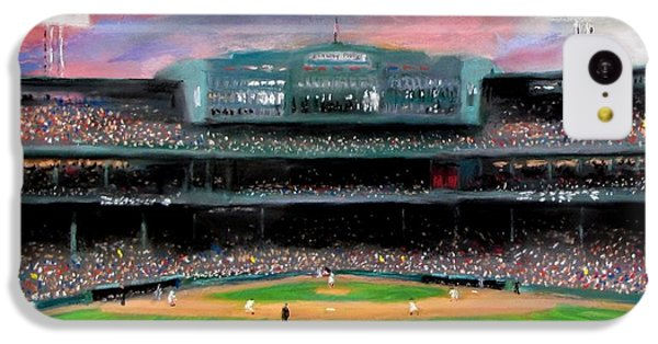 Twilight At Fenway Park IPhone 5c Case by Jack Skinner