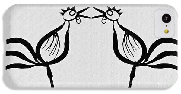 Two Crowing Roosters  IPhone 5c Case