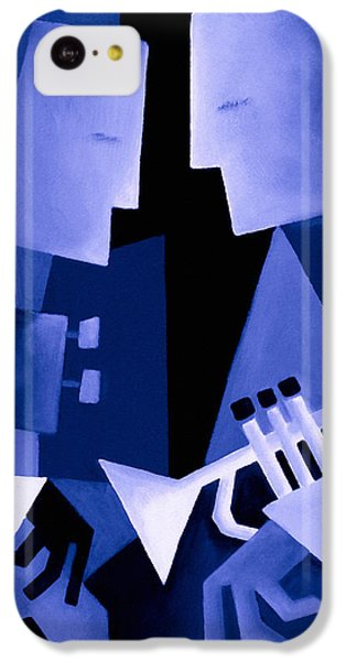 Jazz iPhone 5c Case - Two For The Blues by Thomas Andersen