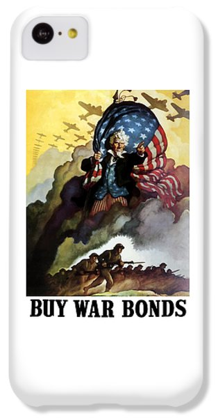 Landmarks iPhone 5c Case - Uncle Sam - Buy War Bonds by War Is Hell Store