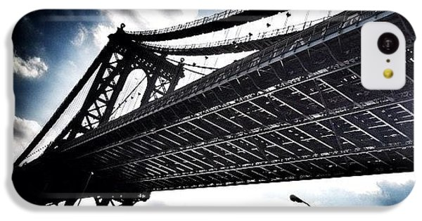 iPhone 5c Case - Under The Bridge by Christopher Leon