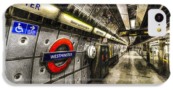 Underground London Art IPhone 5c Case by David Pyatt