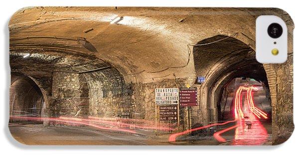 Dungeon iPhone 5c Case - Underground Tunnels In Guanajuato, Mexico by Juli Scalzi