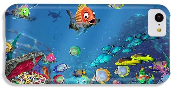 Seahorse iPhone 5c Case - Underwater Fantasy by Doug Kreuger