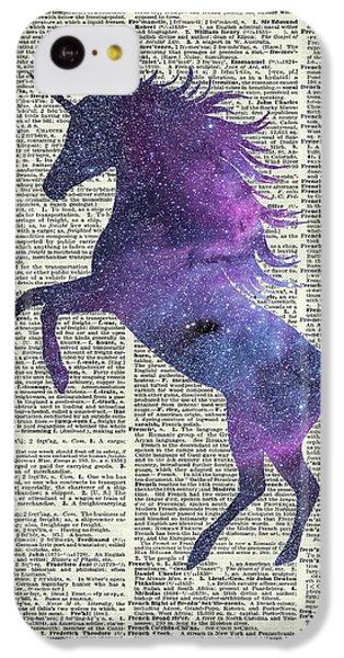 Unicorn In Space IPhone 5c Case