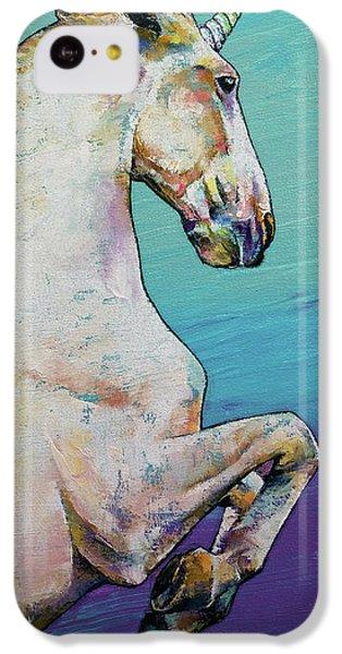 Unicorn iPhone 5c Case - Unicorn by Michael Creese