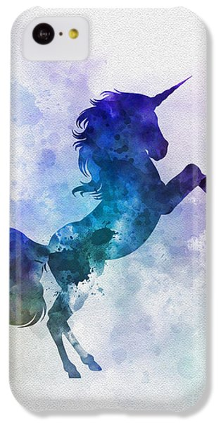 Unicorn IPhone 5c Case by Rebecca Jenkins