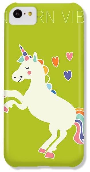 Unicorn Vibes IPhone 5c Case