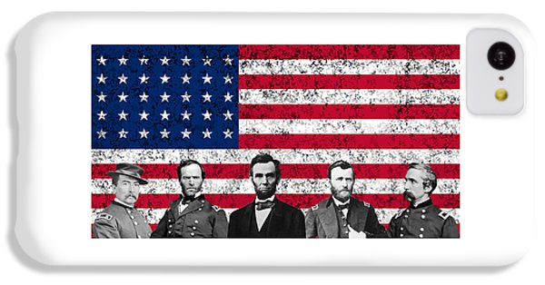 Union Heroes And The American Flag IPhone 5c Case
