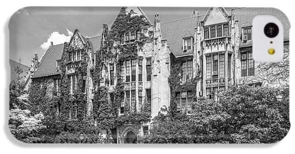 University Of Chicago Eckhart Hall IPhone 5c Case by University Icons