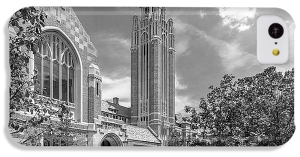 University Of Chicago Saieh Hall For Economics IPhone 5c Case by University Icons