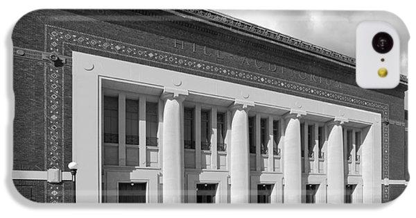 University Of Michigan Hill Auditorium IPhone 5c Case by University Icons