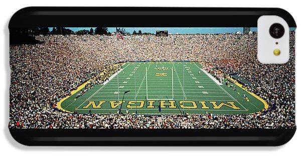 University Of Michigan Stadium, Ann IPhone 5c Case by Panoramic Images