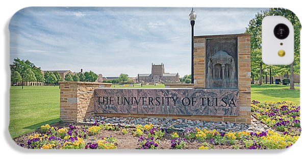 University Of Tulsa Mcfarlin Library IPhone 5c Case