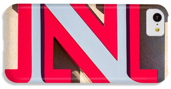 Johnny Carson iPhone 5c Case - UNL by Jerry Fornarotto